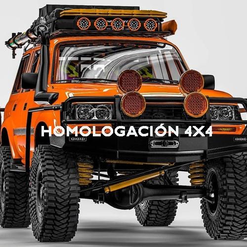 HOMOLOGACIÓN 4X4