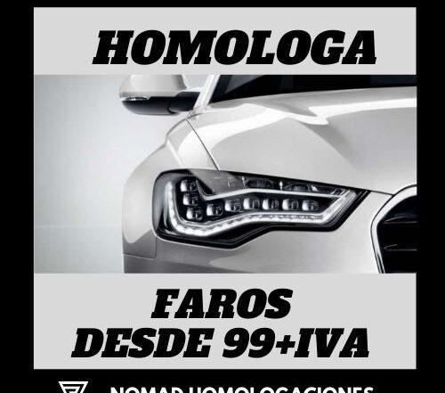 PROMOCION FAROS NOMAD HOMOLOGACIONES